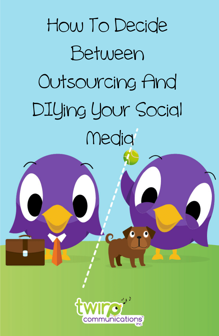 Every week I talk to small business owners who are struggling to manage their own social media.  How can you decide if you should DIY or outsource your social media marketing?
