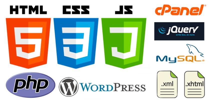 css3, html5, javascript, php & wordpress