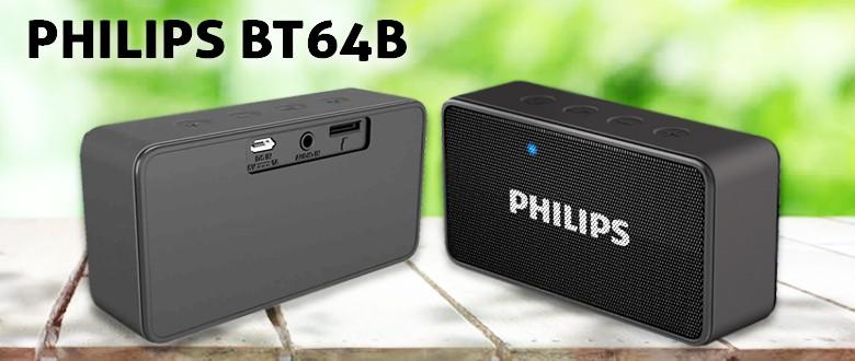 Philips B T64 B Wireless Speaker