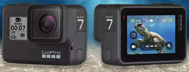 Go Pro Black Hero 7 Action Camera