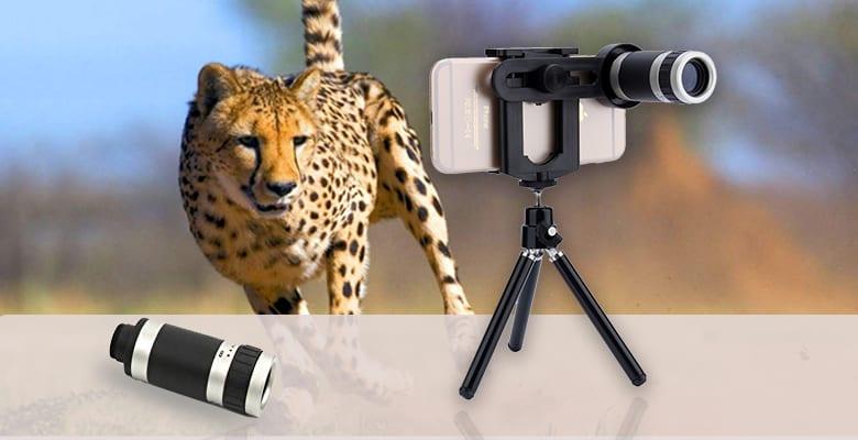 Macroid 8 X Zoom Universal Mobile Camera Lens