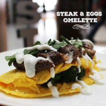 Steak & Eggs Omelette