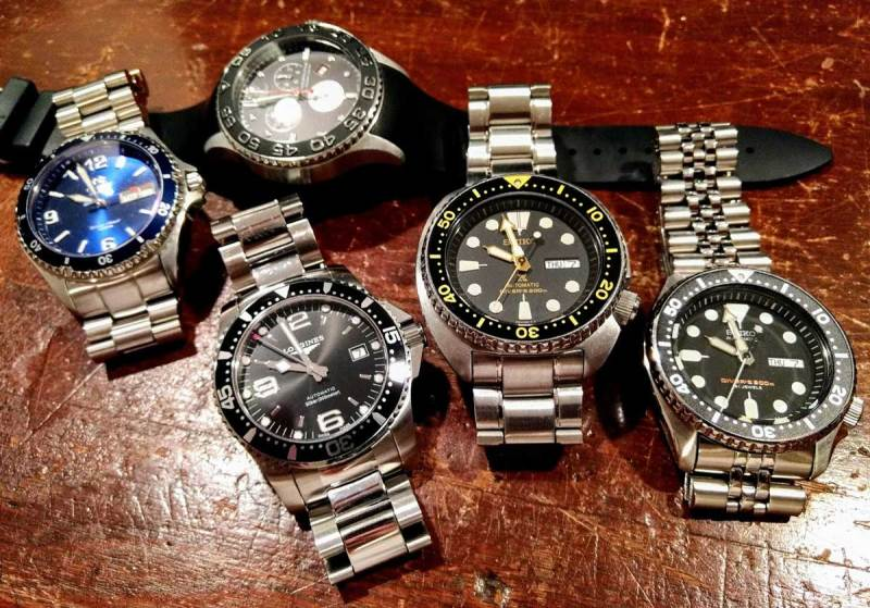 Dive Watch Collection