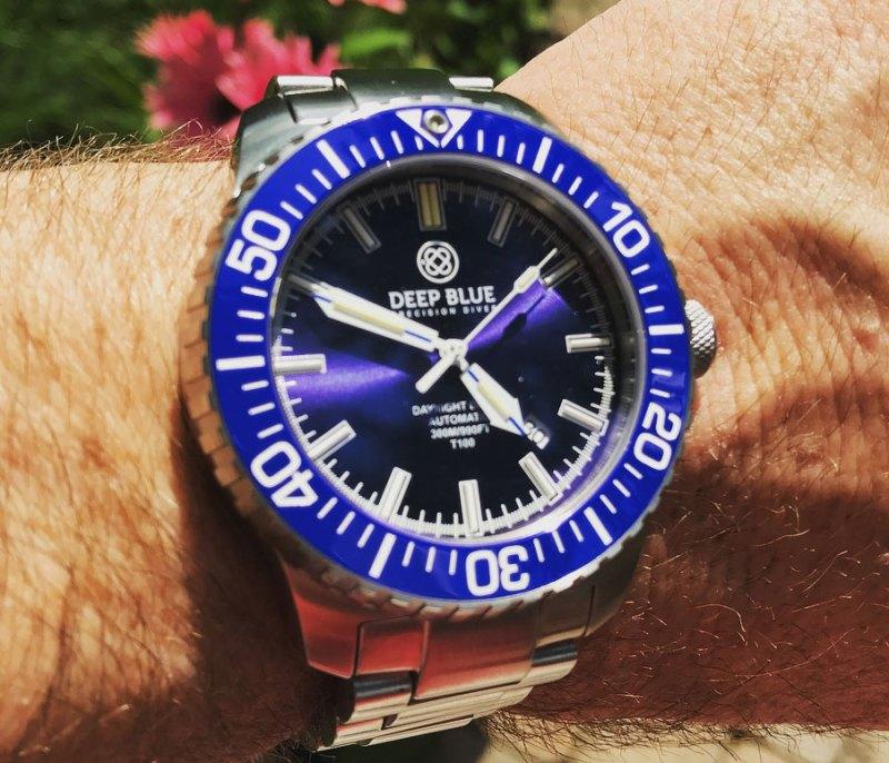 Deep Blue DayNight Diver T-100