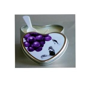 edible candle grape