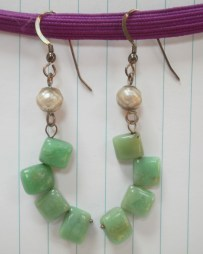 Jade and Faceted Pearls