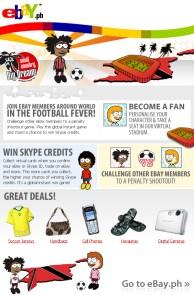 EDM design for eBay Philippines - Football Fever