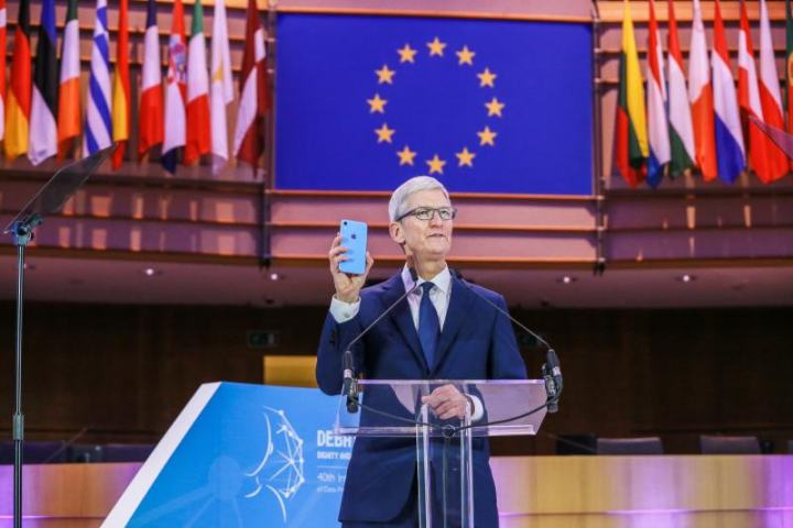Great speech by Tim Cook at an international conference on data privacy