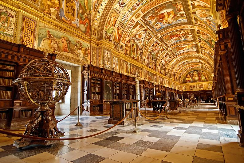 el-escorial-library-madrid-spain