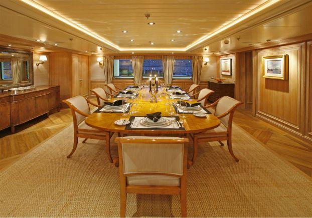 Inside Paul Allens 160 Million Yacht Tatoosh