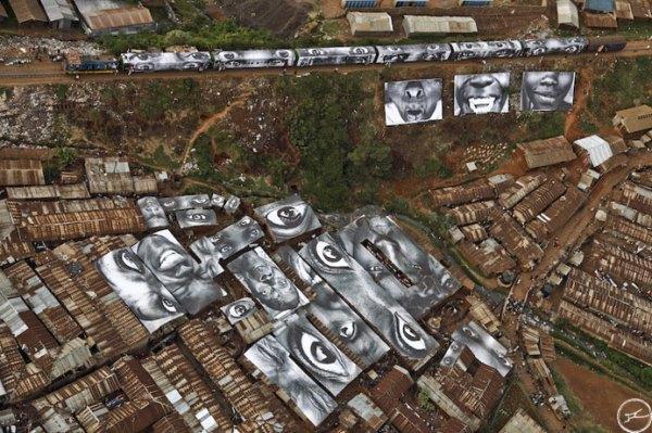 Massive Mural by Kobra Recreates Iconic Times Square 'Kiss ...