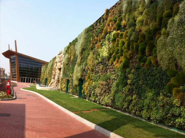 largest vertical garden The Largest Vertical Garden in the World Â«TwistedSifter