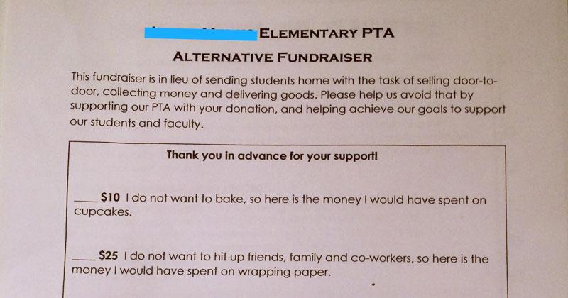 PTAs Alternative Fundraiser Gets Internet Seal Of Approval TwistedSifter