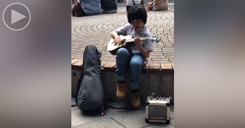 This Little Kid Playing Classical Gas on Ukulele Is What You Need     This Little Kid Playing Classical Gas on Ukulele Is What You Need Right Now      TwistedSifter