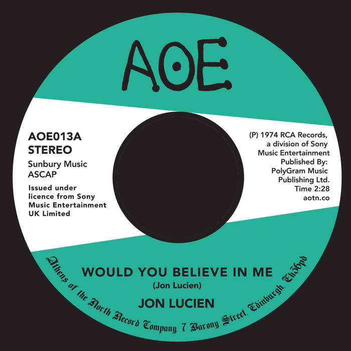 Jon Lucien - Would You Believe in Me : A Sunny Day
