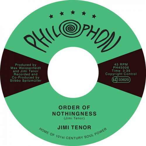 Order of Nothingness / Tropical Eel by Jimi Tenor