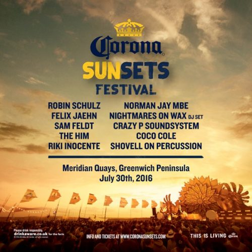 Corona SunSets London 30th July