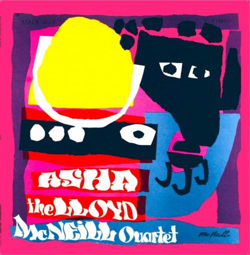 Reissue Lloyd McNeill Quartet - Asha (1969)