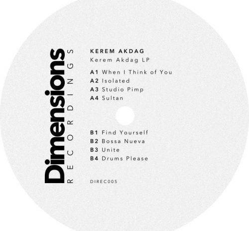 Debut album from Kerem Akdag.