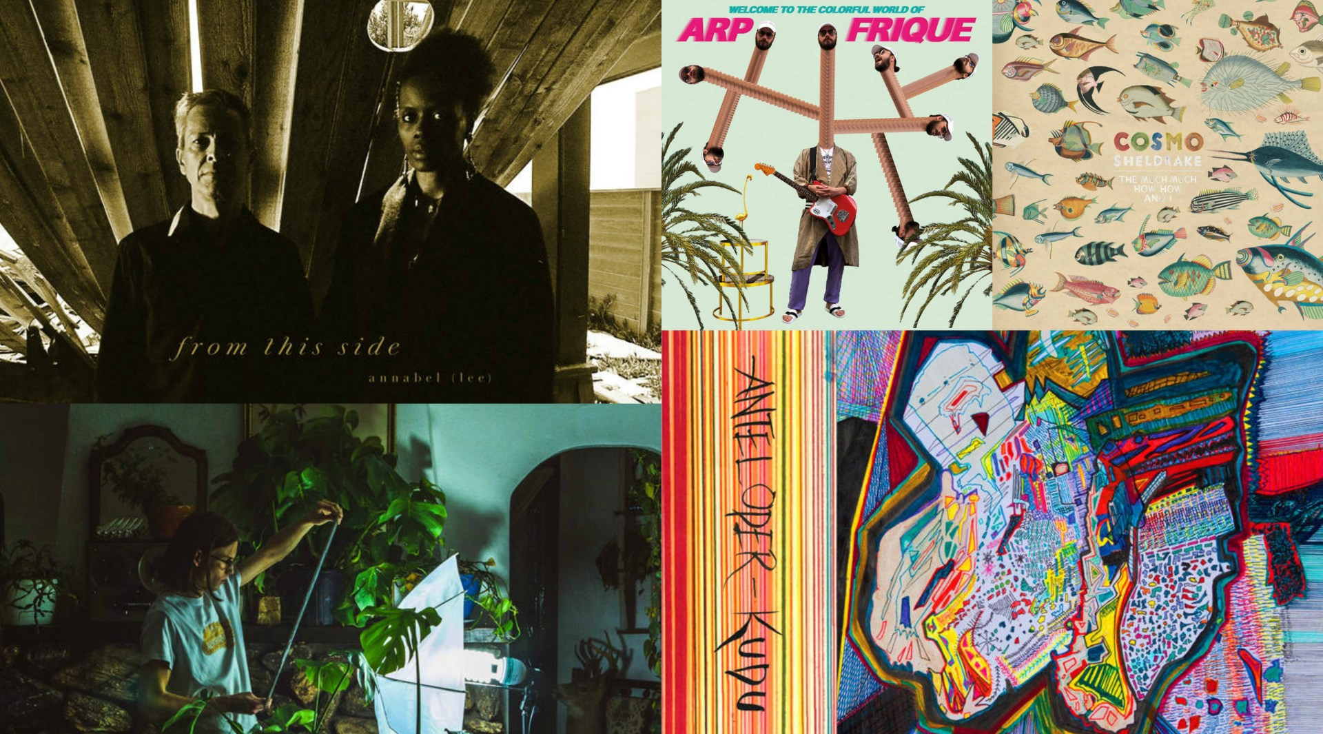 Five new albums worth hearing.