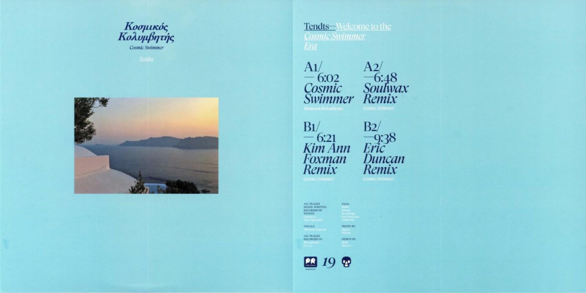 Tendts – Cosmic Swimmer [Public Release]