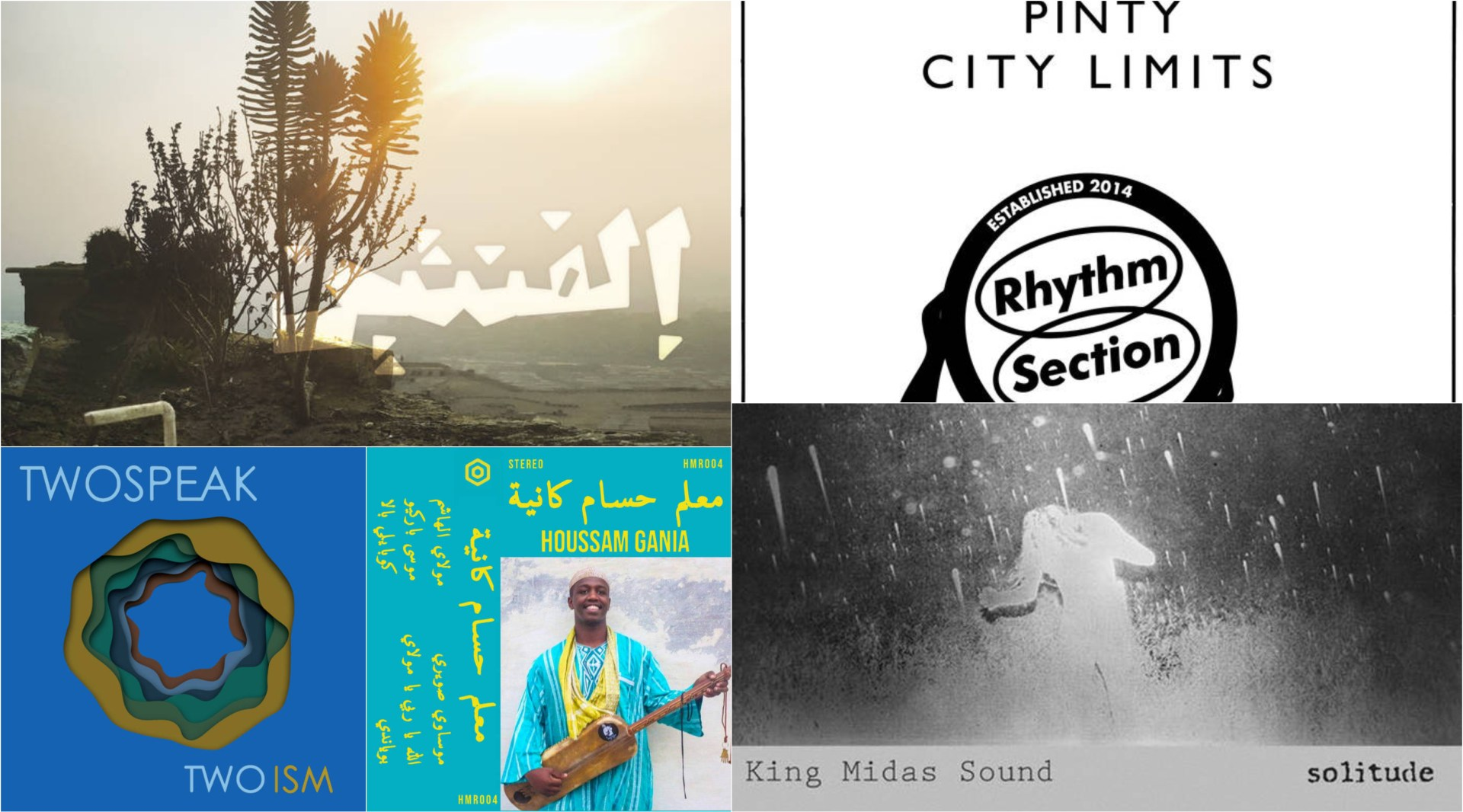 This week's list of essential new albums incudes Pinty, King Midas Sound, TwoSpeak and more.