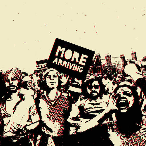 Sarathy Korwar's More Arriving LP artwork