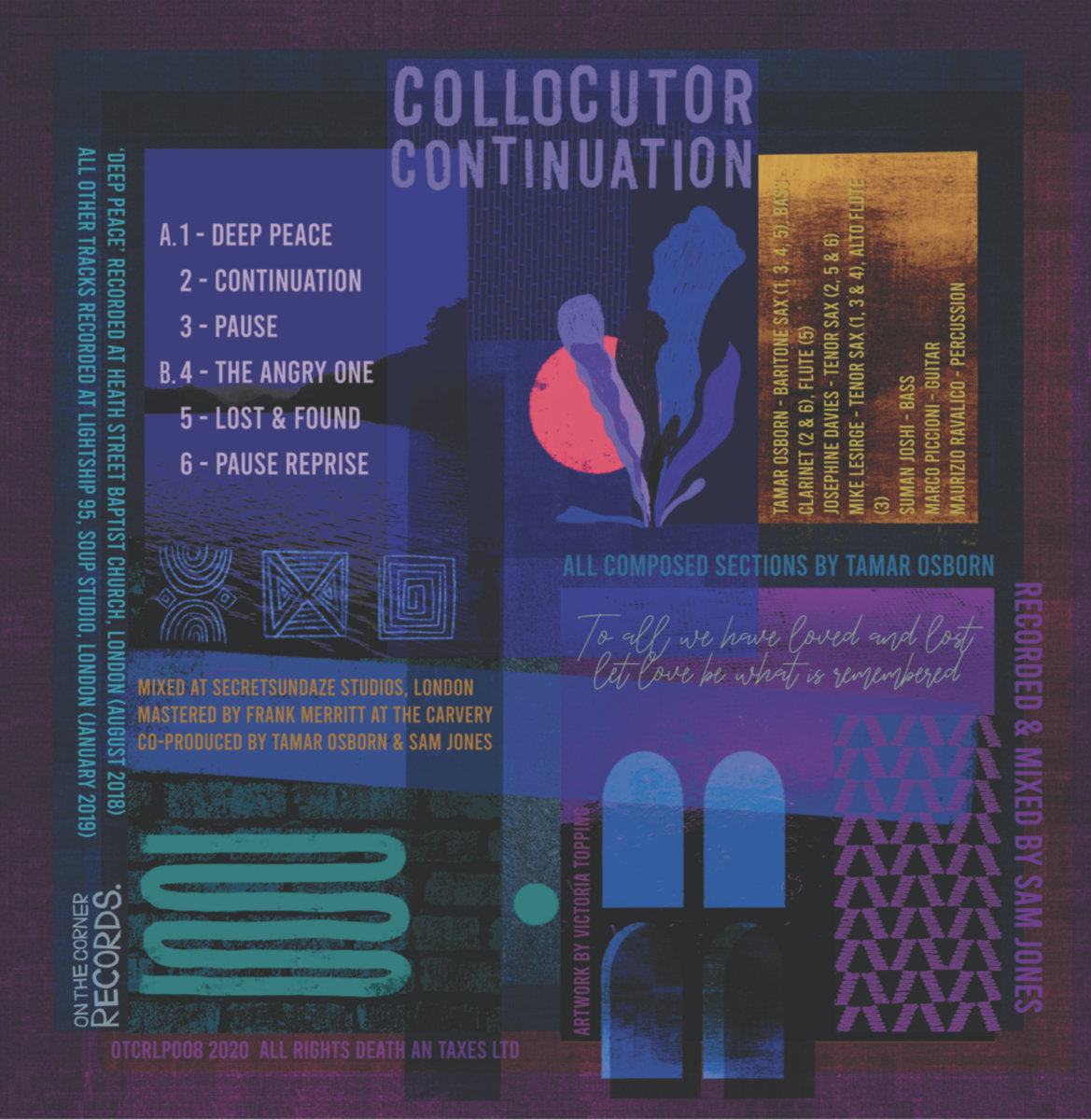 Collocutor - Continuation artwork by Voctoria Topping.