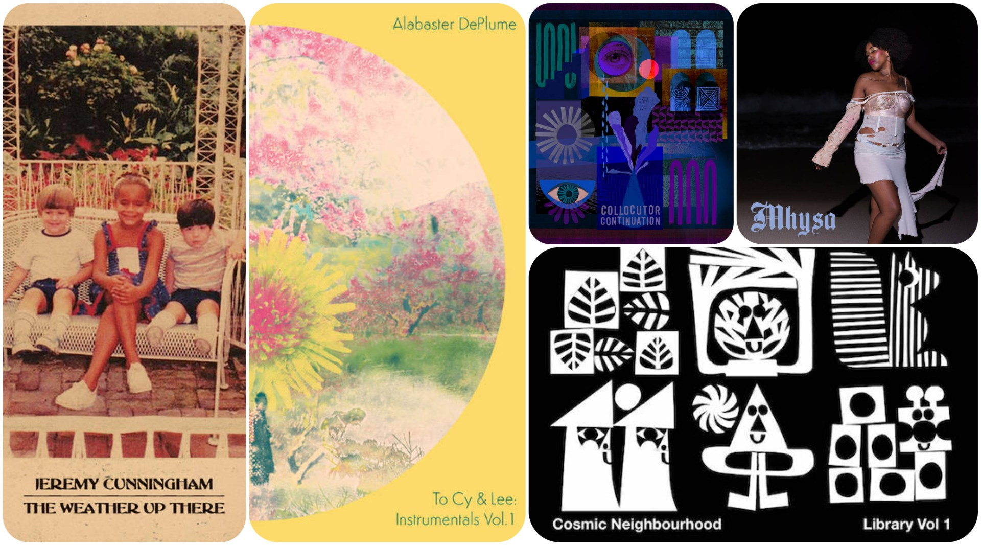 We select five new albums - releases, from across the musical soundscape, that require your attention.