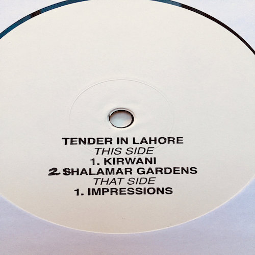 Tenderlonious announces new EP of improvised ragas, Tender in Lahore.