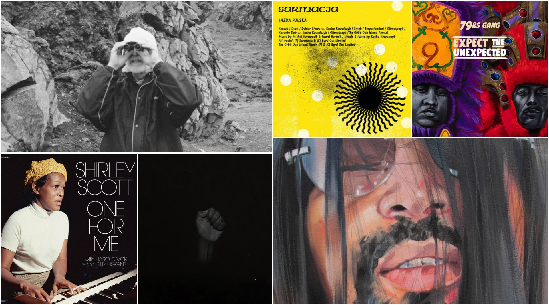Between The Cracks: New Albums.