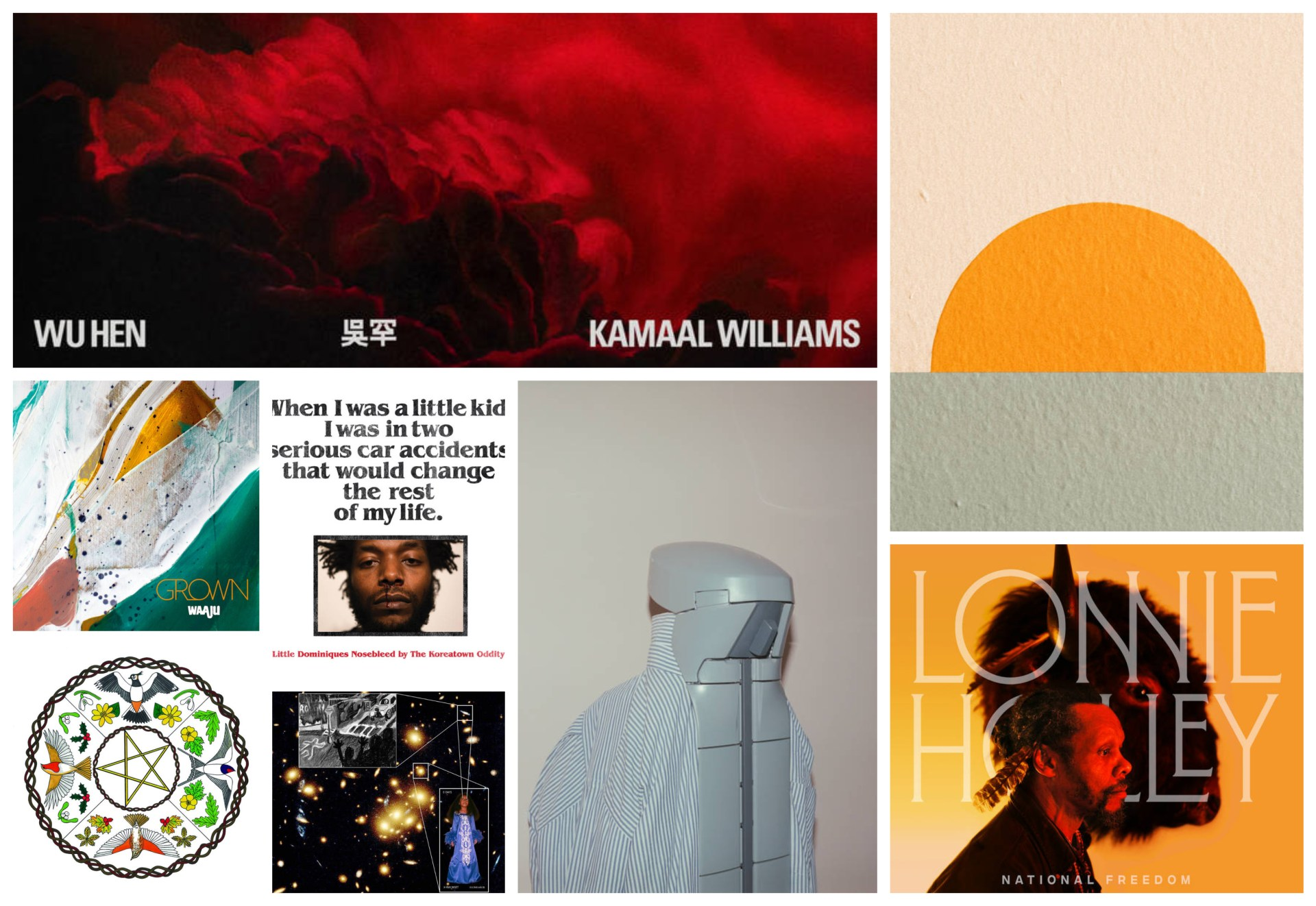 Eight releases you need to hear!