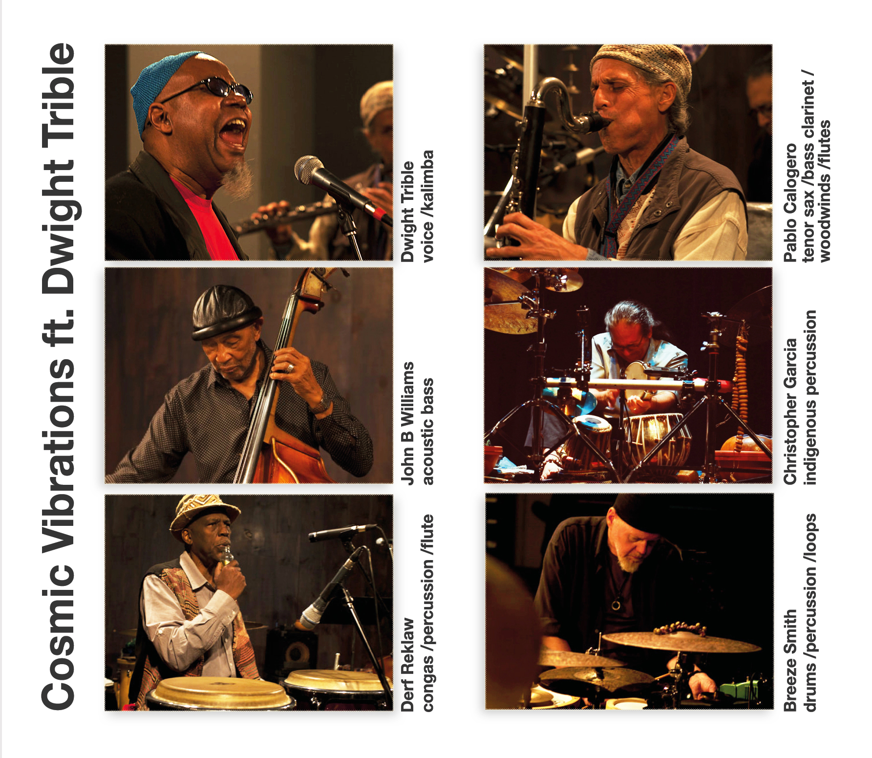 Debut album by new, LA-based spiritual jazz ensemble led by acclaimed jazz vocalist Dwight Trible.