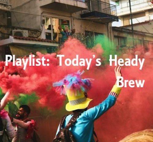 New Monday music playlist.