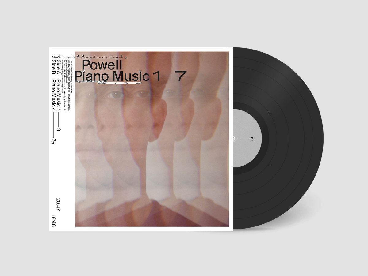 Powell is releasing a new album, called Piano Music 1-7, via Editions Mego.