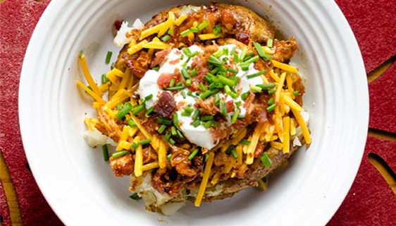 BBQ Baked Potato | Twisted Tastes