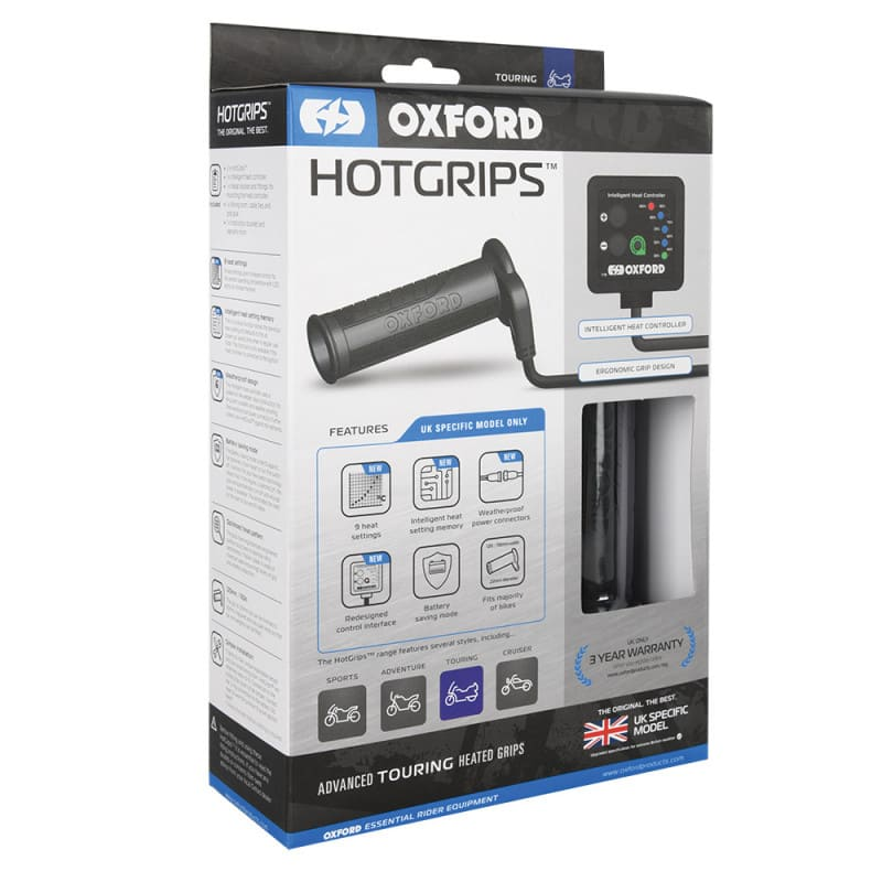 Oxford Touring Hot Grips - Universal Heated Grips