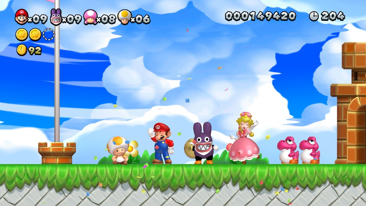 new super mario bros u deluxe gameplay