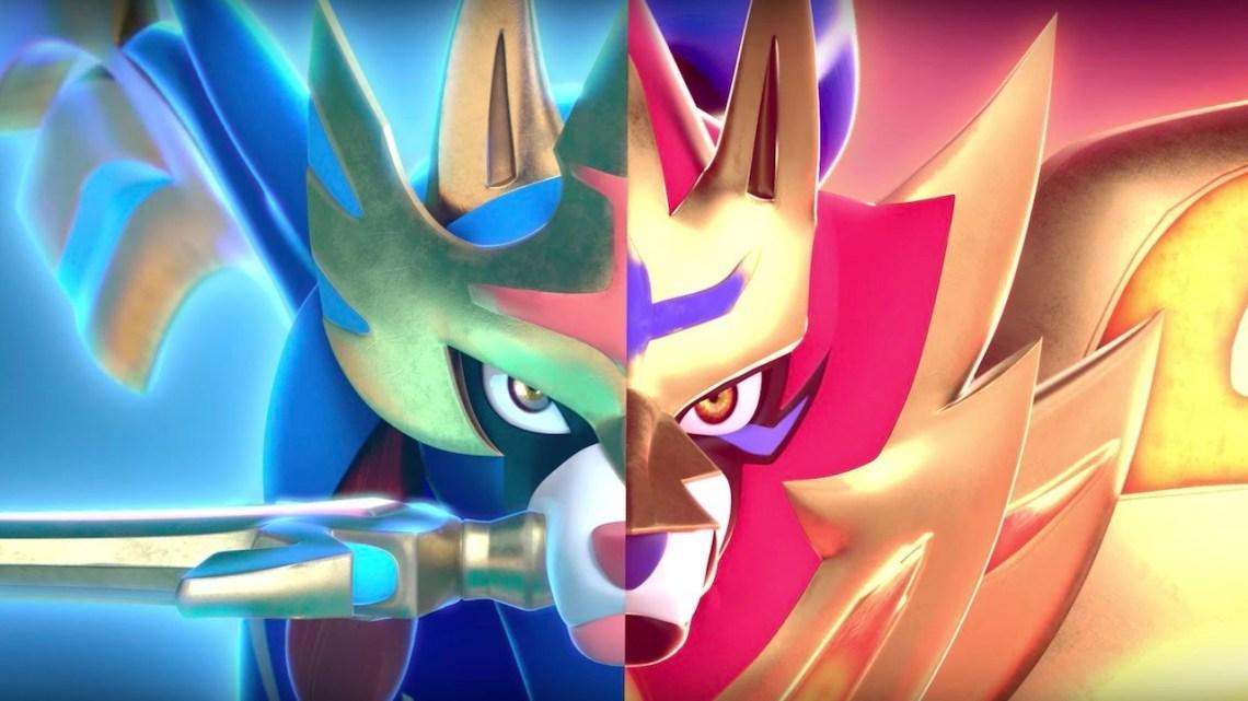 pokemon sword and shield nintendo switch