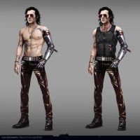 Cyberpunk 2077 Concept Art Shows How Johnny Silverhand Looked Before Keanu Reeves