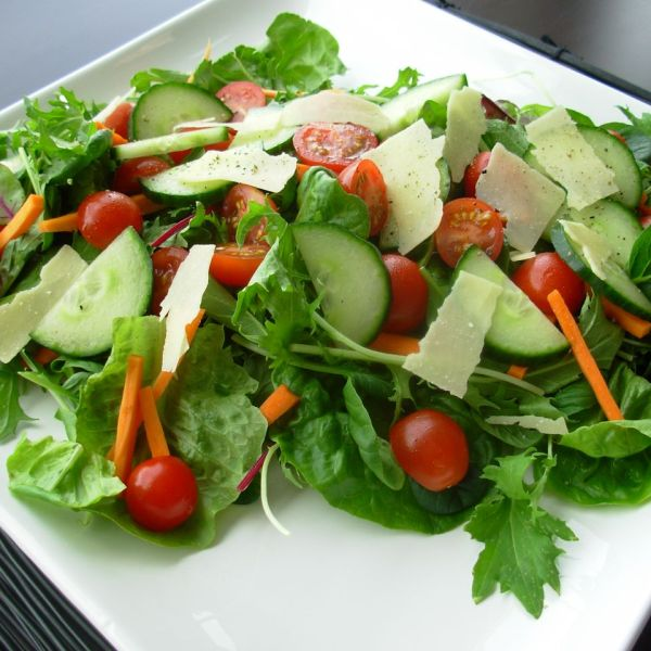 Mixed Green Salad with Homemade Dressings (GF*)