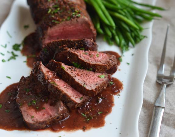 Whole Roasted and Sliced Strip Steak (GF)