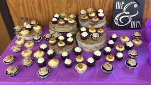 Photograph of an Assortment of Cupcakes