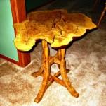 burl table 3