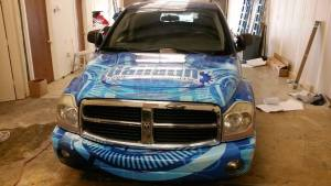 Vehicle graphic installations Nashville