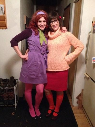 Colleen and Kayla Halloween 2013