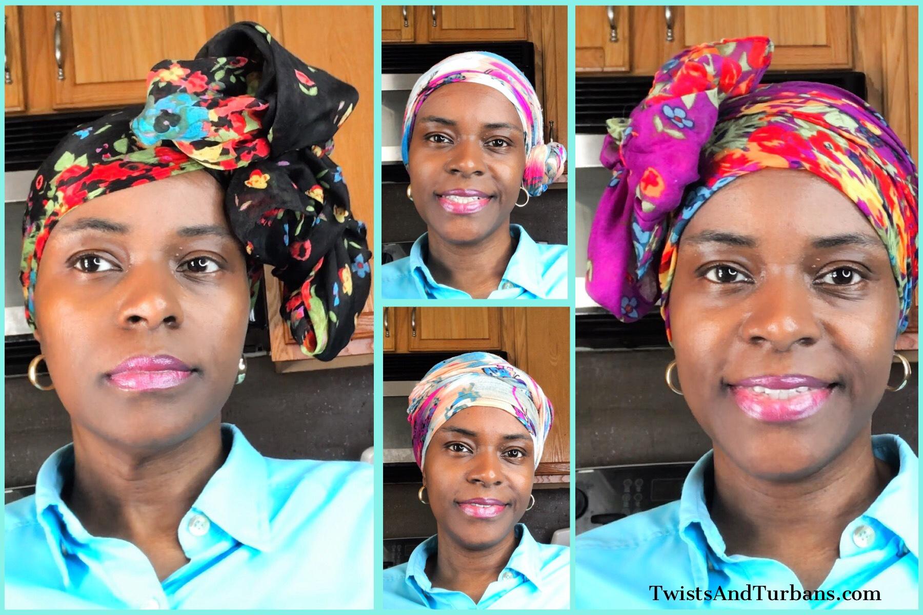 Rectangular Scarf Head Wrap