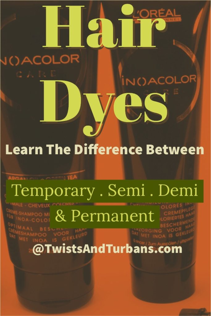 Hair Dyes For Natural Hair