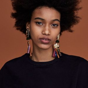 Women's African Tassel Earrings
