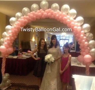 Balloon Arch for Wedding